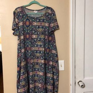 XL LulaRoe Carly dress